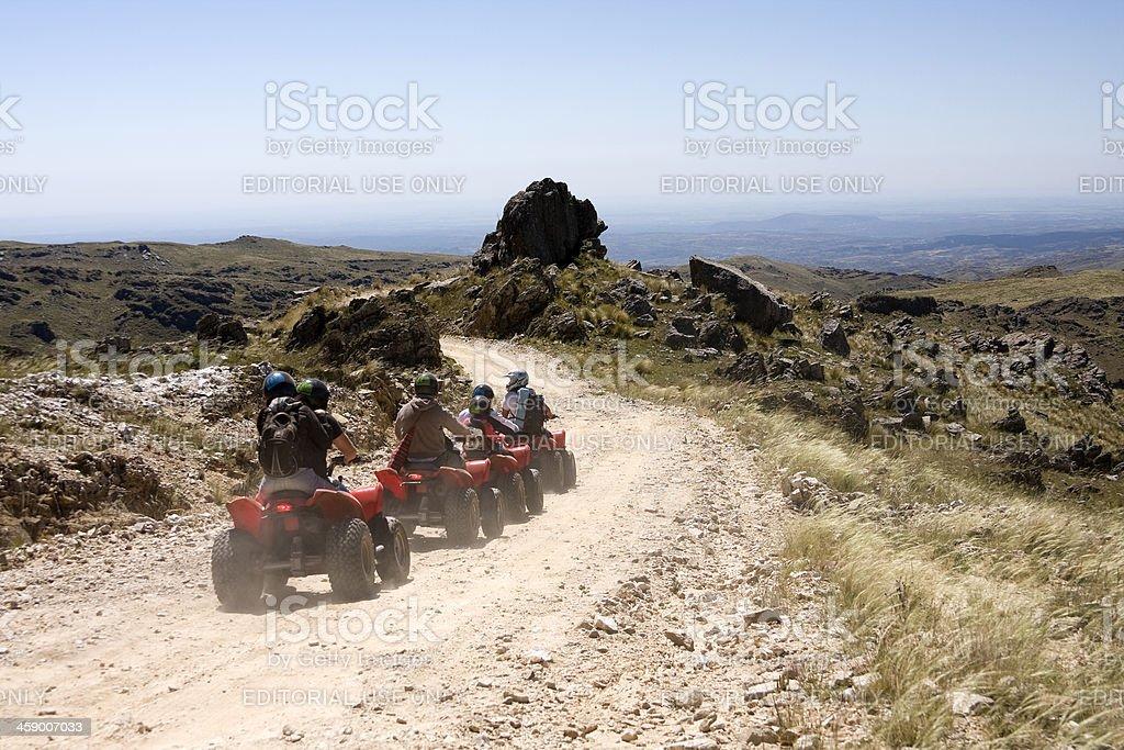 Adventure tourism royalty-free stock photo