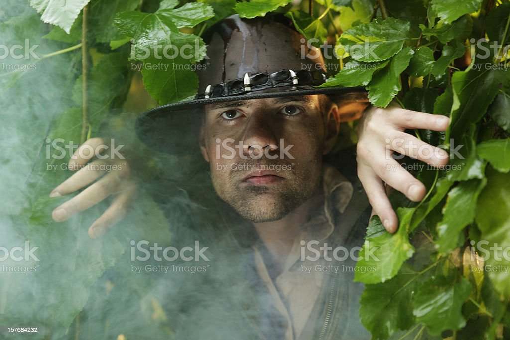 Adventurer stock photo