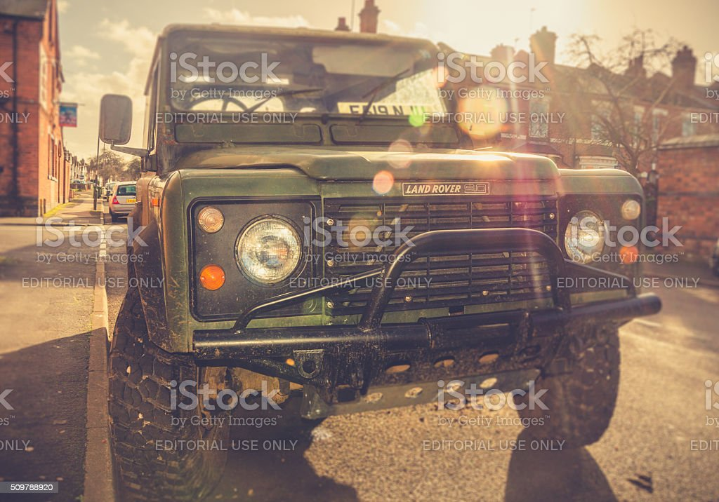 Adventures by car stock photo