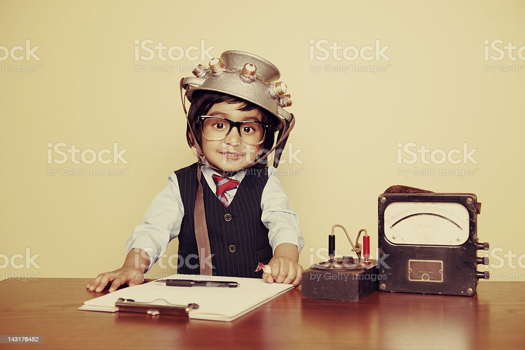 Adventures in Time Travel stock photo