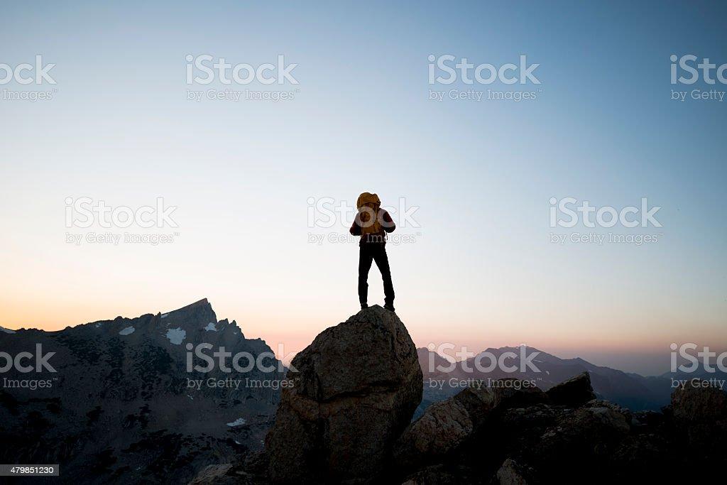 adventurous spirit stock photo