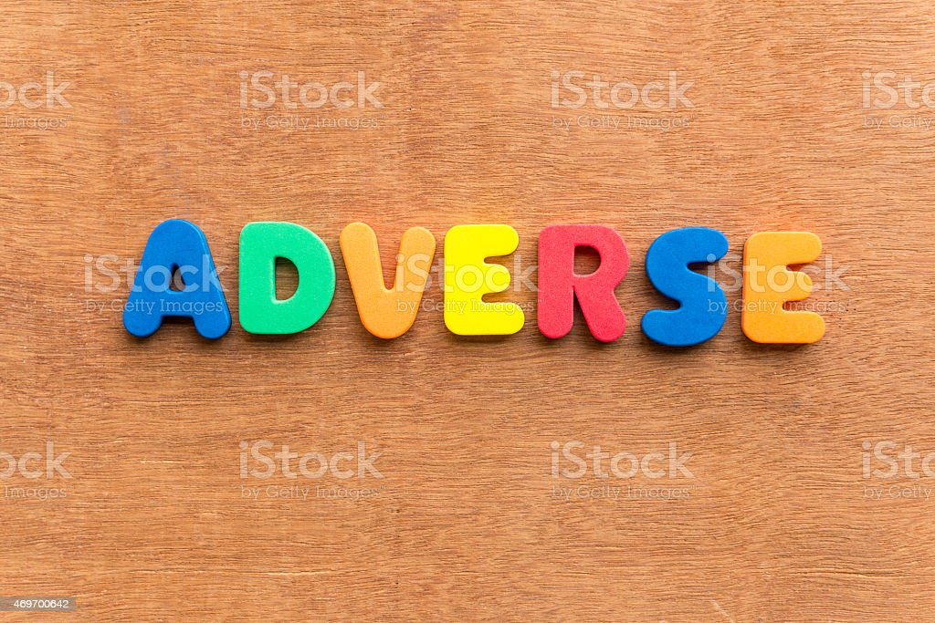 adverse stock photo