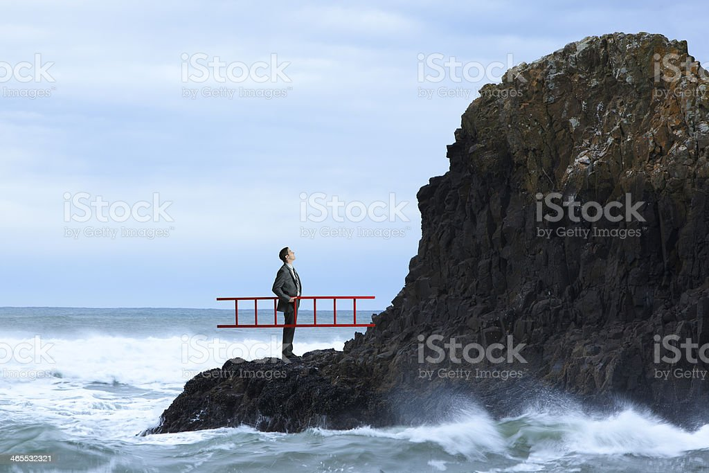 Adversity royalty-free stock photo