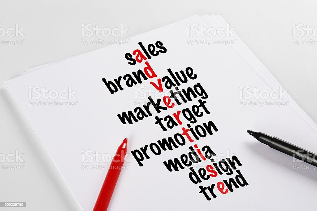 Advertise Concept (Click for more) royalty-free stock photo