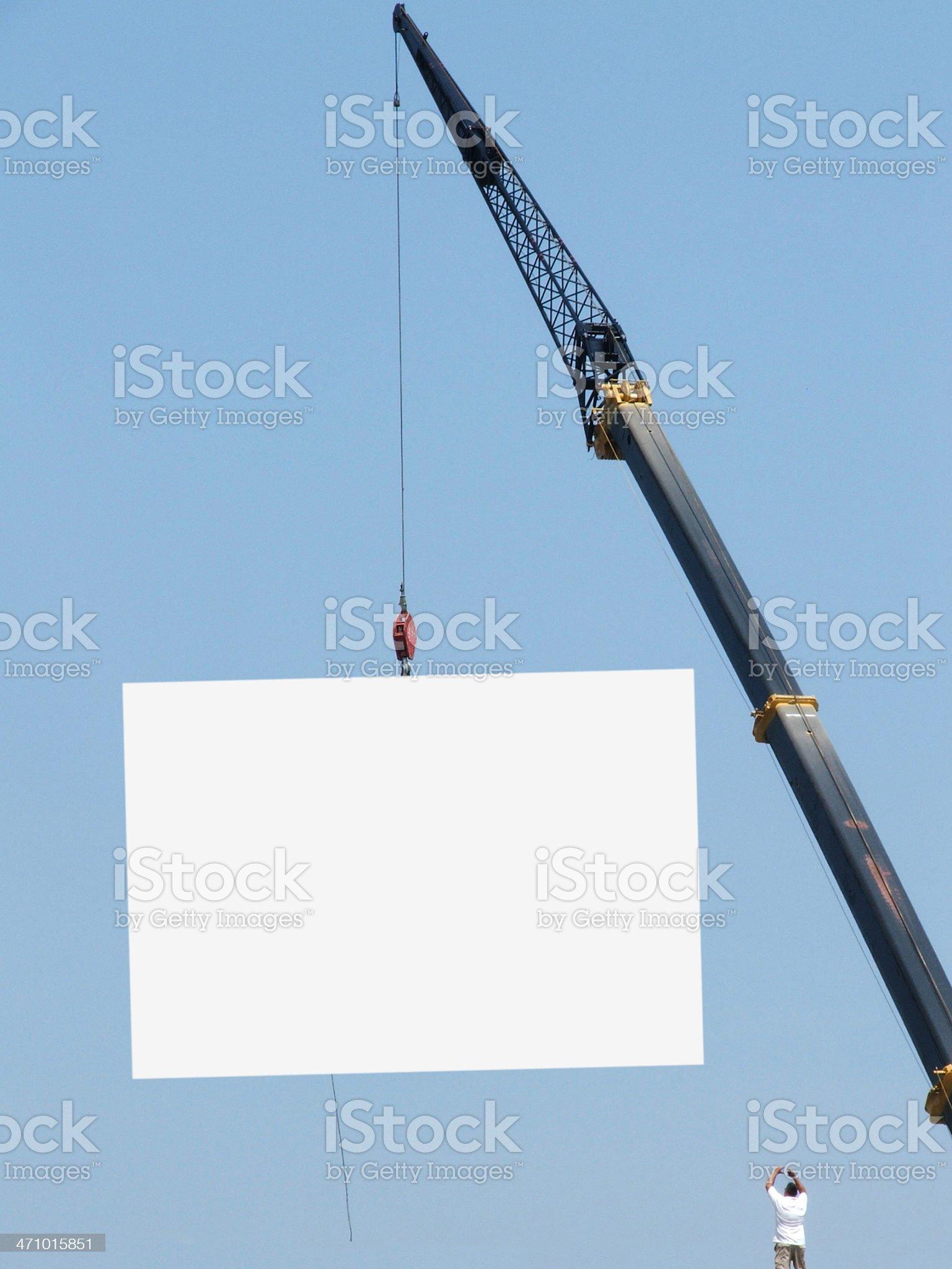 Advertise royalty-free stock photo