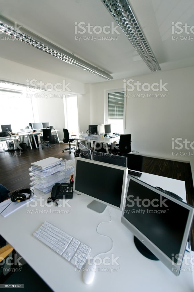 Advertising Agency Office Interior royalty-free stock photo