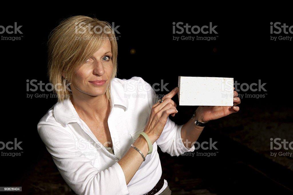 advertising beauty royalty-free stock photo