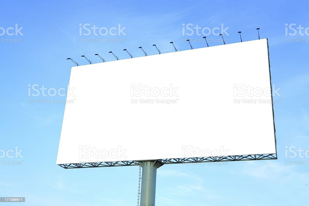 advertising billboard royalty-free stock photo