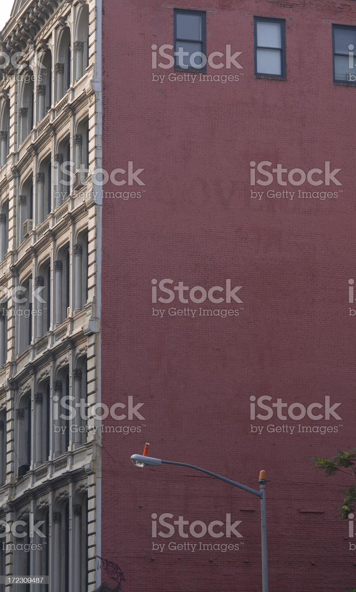 Advertising Billboard  Space in Manhattan New York royalty-free stock photo