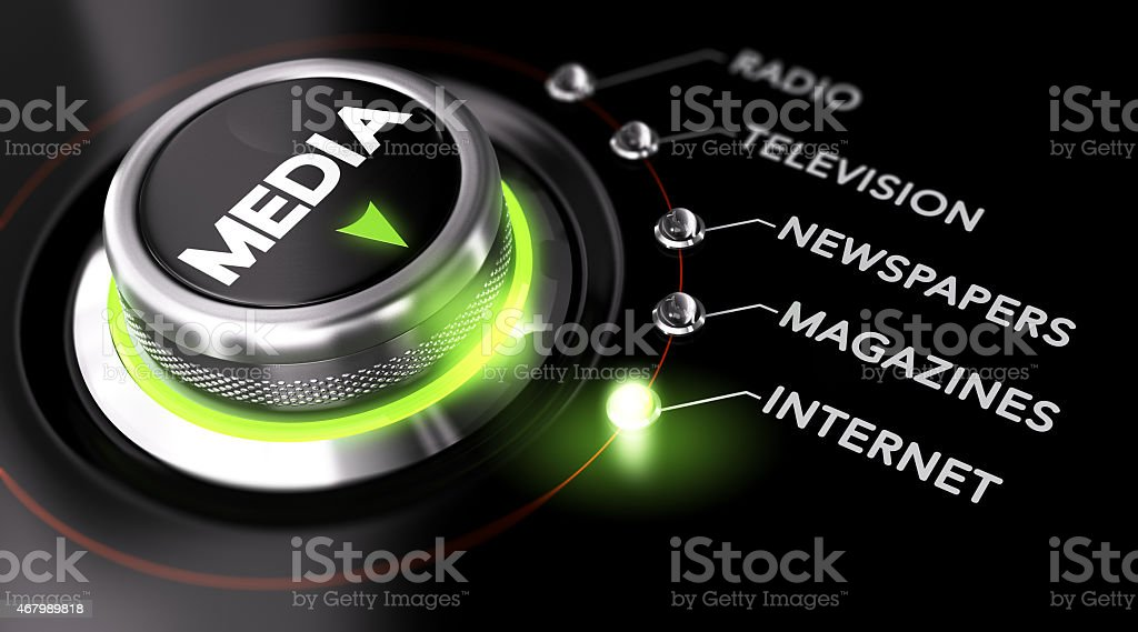Advertising Campaign, Mass Medias stock photo