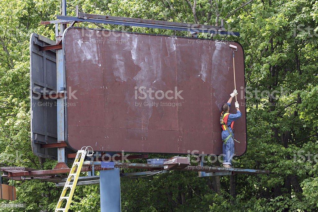 Advertising Preparation stock photo