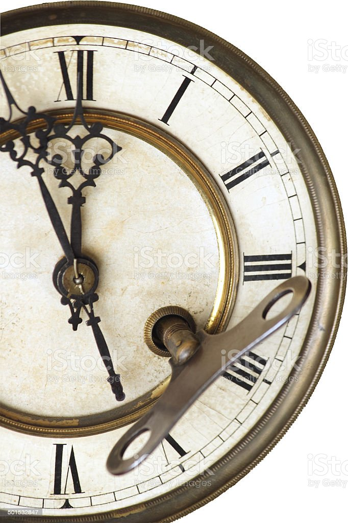 advices of old clock stock photo