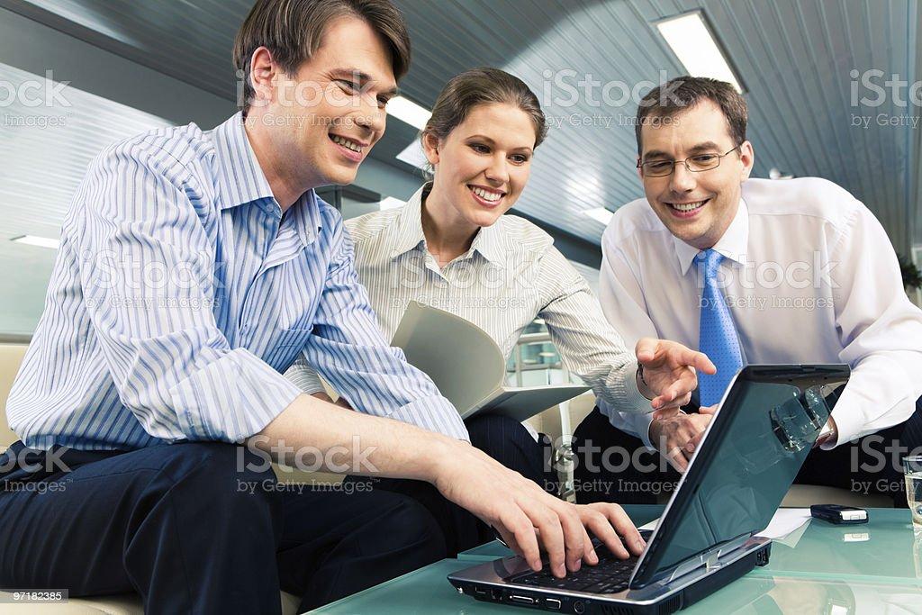 Advising stock photo