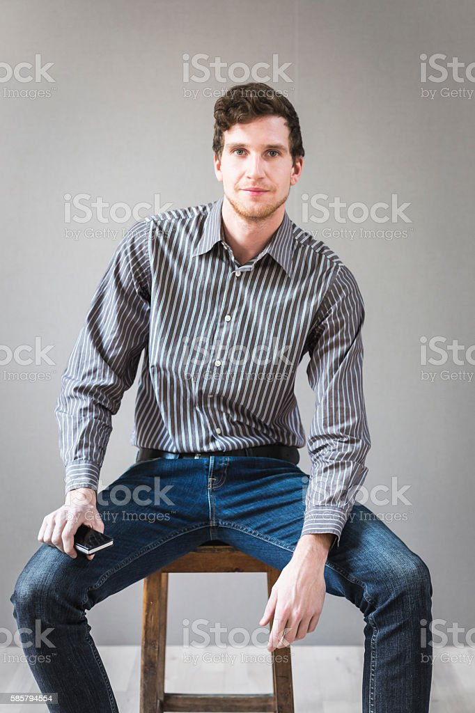Advisor man portrait stock photo