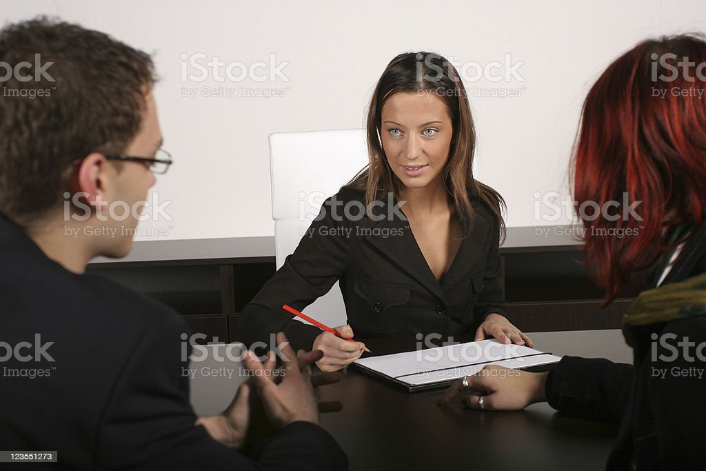 Advisor royalty-free stock photo