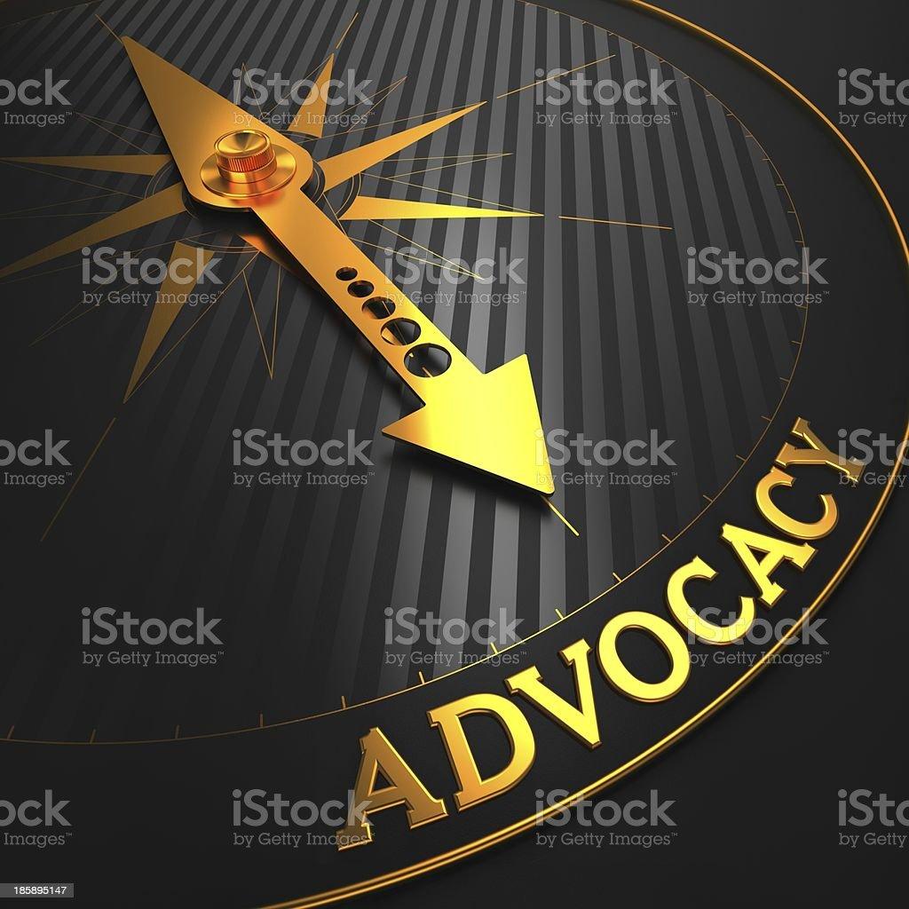 Advocacy. Business Background. stock photo