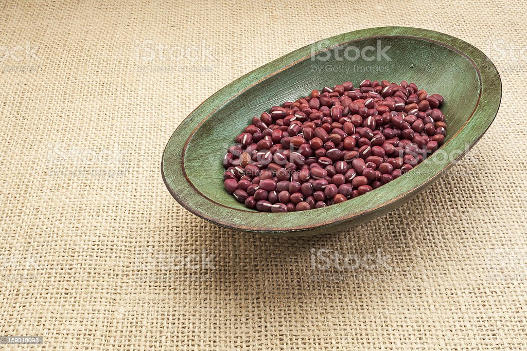 adzuki beans royalty-free stock photo