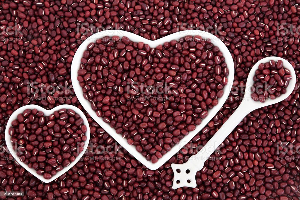 Adzuki Beans stock photo