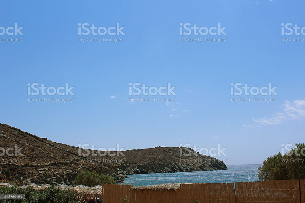 Aegean Beach stock photo