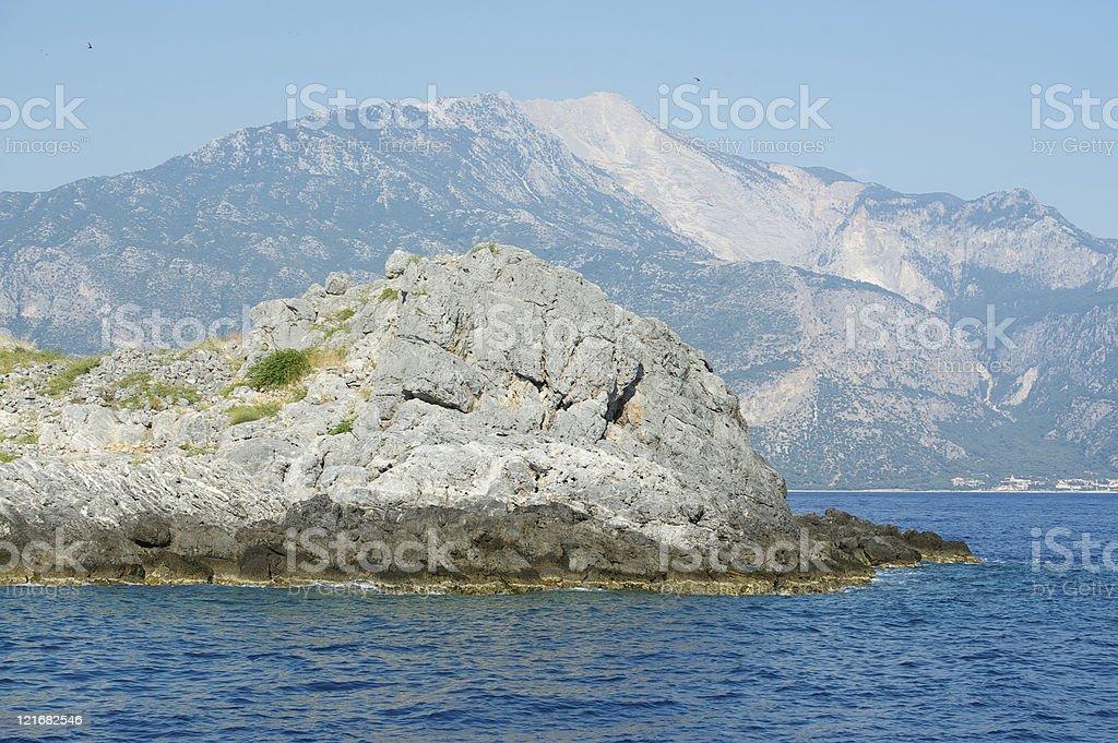 Aegean Coast Of Turkey stock photo