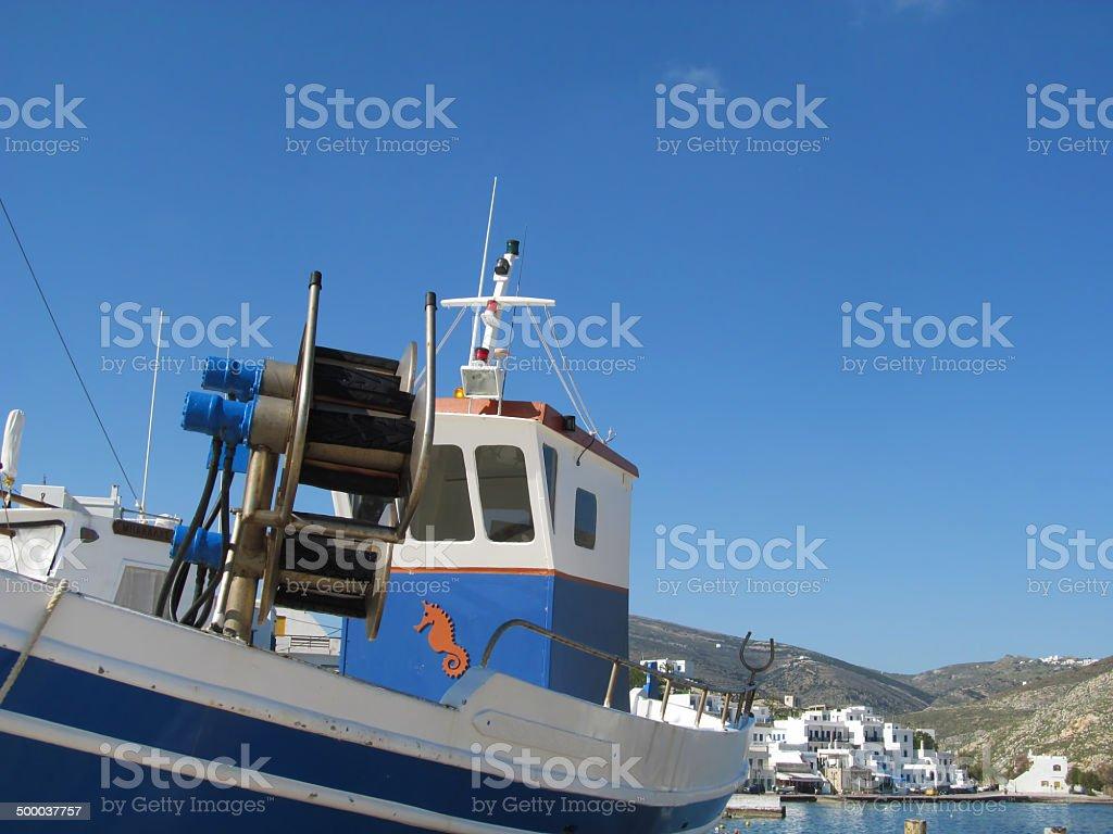 Aegean islands stock photo
