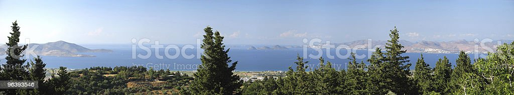 Aegean Panorama View royalty-free stock photo