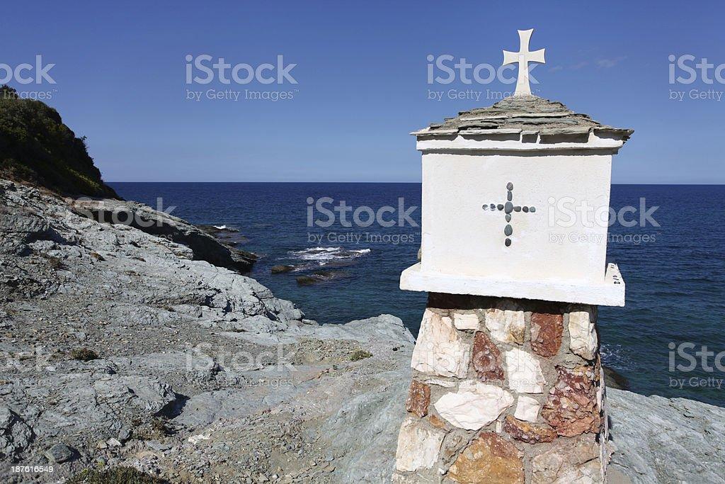 Aegean Sea royalty-free stock photo