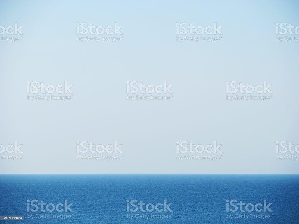 Aegean sea stock photo