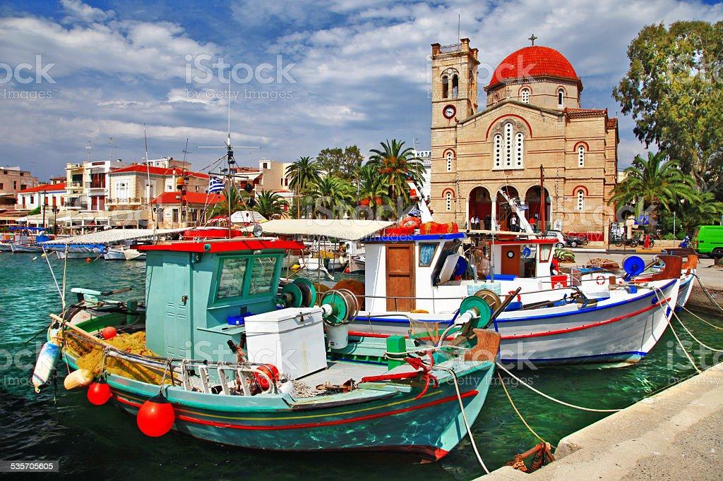 Aegina,Greece stock photo