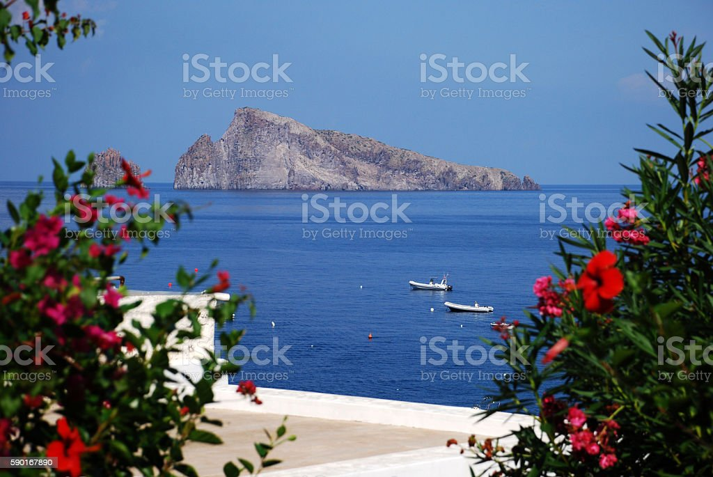 Aeolian Islands - Panarea stock photo