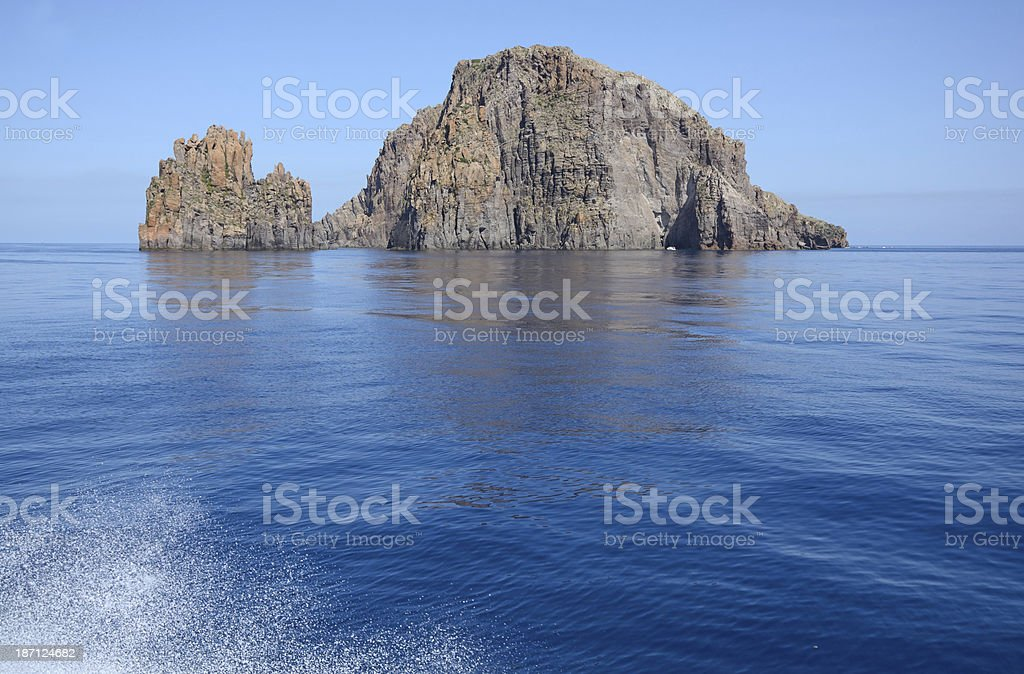 Aeolian Islands stock photo