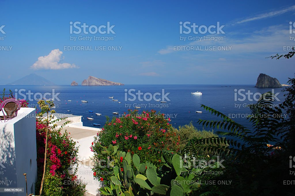 Aeolian Islands stock photo