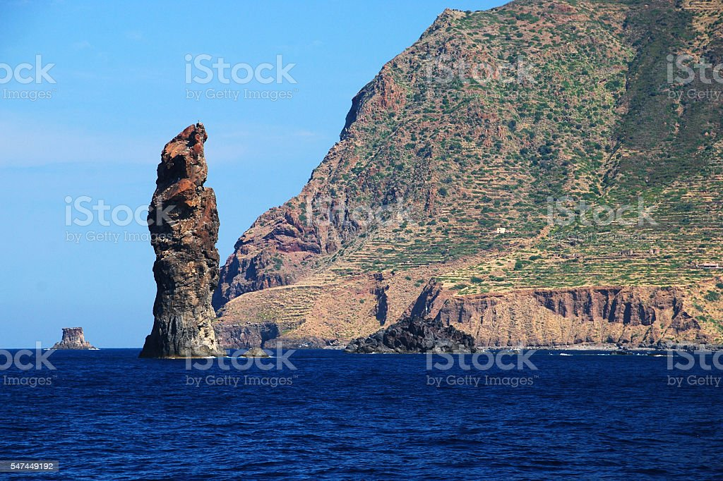 Aeolian islands - Sicily stock photo