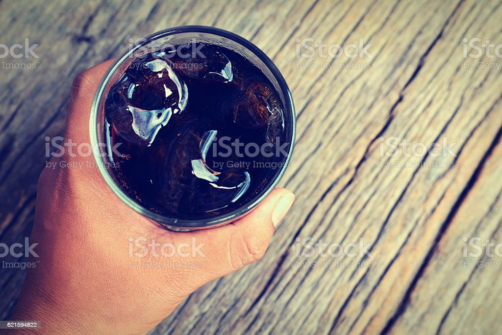 aerated soft drink wood stock photo