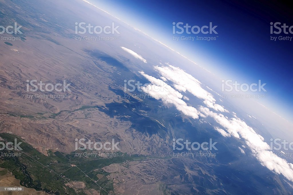 Aerial Cliffs stock photo