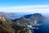Aerial landscape of the Cape peninsula