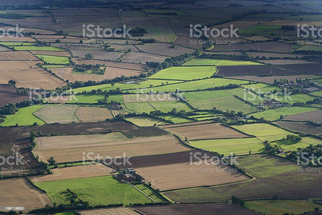 Aerial Landscape stock photo
