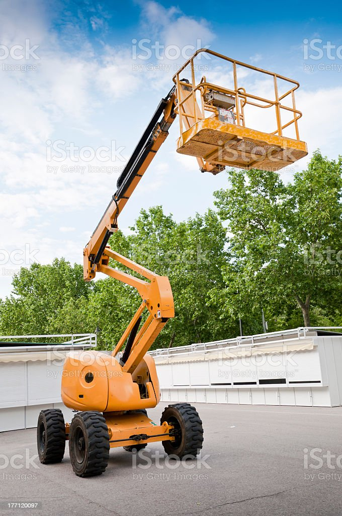Aerial Lift stock photo