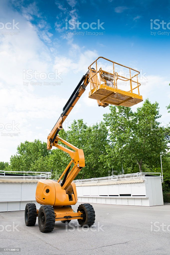 Aerial Lift stock photo