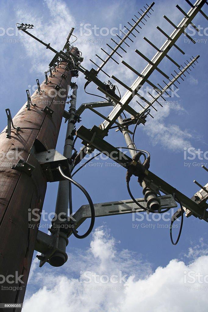 Aerial Mast royalty-free stock photo