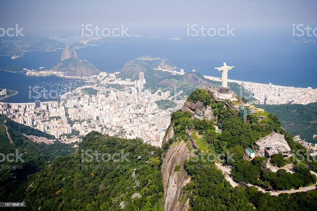 Aerial of Rio de Janeiro royalty-free stock photo