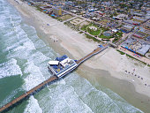 Aerial photo daytona Beach FL