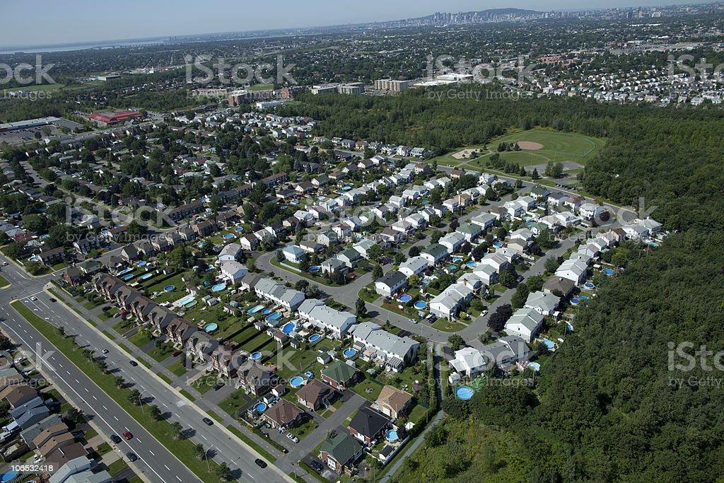 Aerial Photo royalty-free stock photo