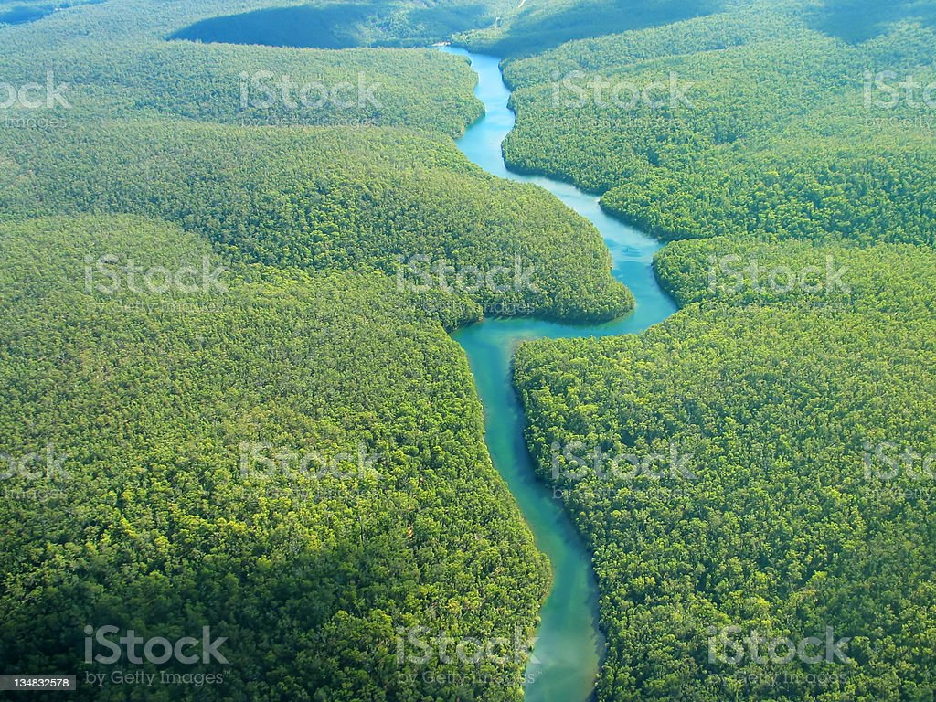 Aerial Photo royalty-free stock photo