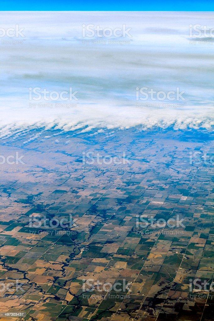 Aerial photo. royalty-free stock photo