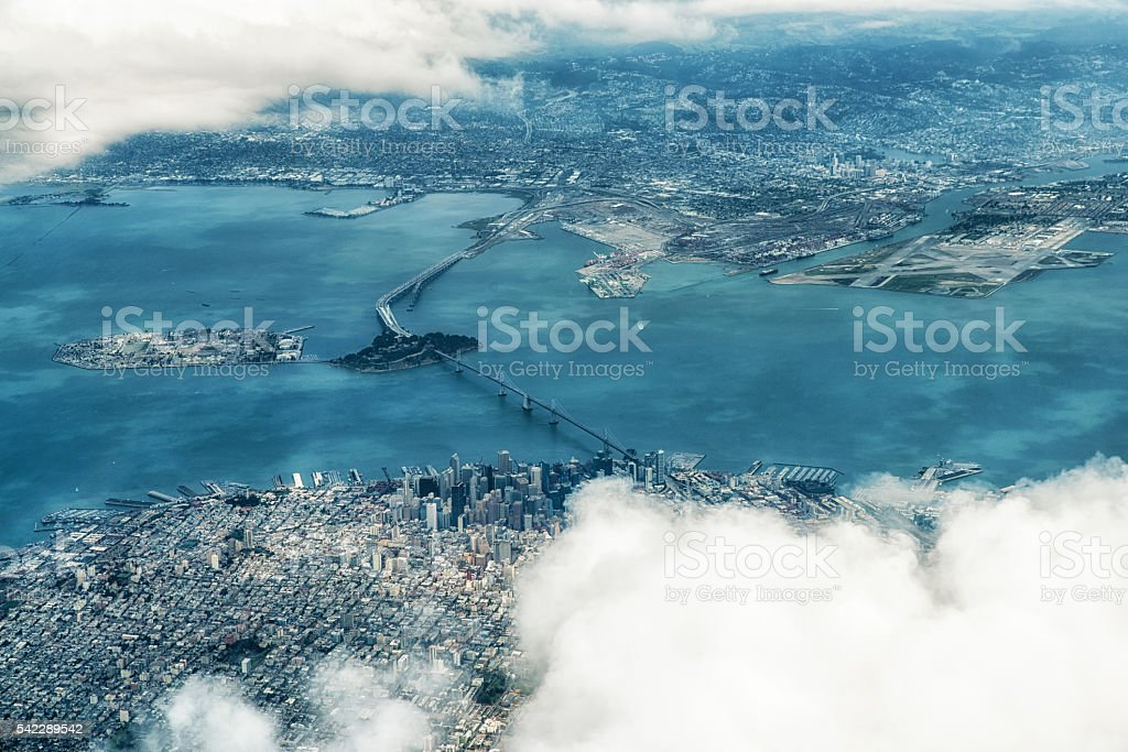 Aerial Photograph of San Francisco stock photo