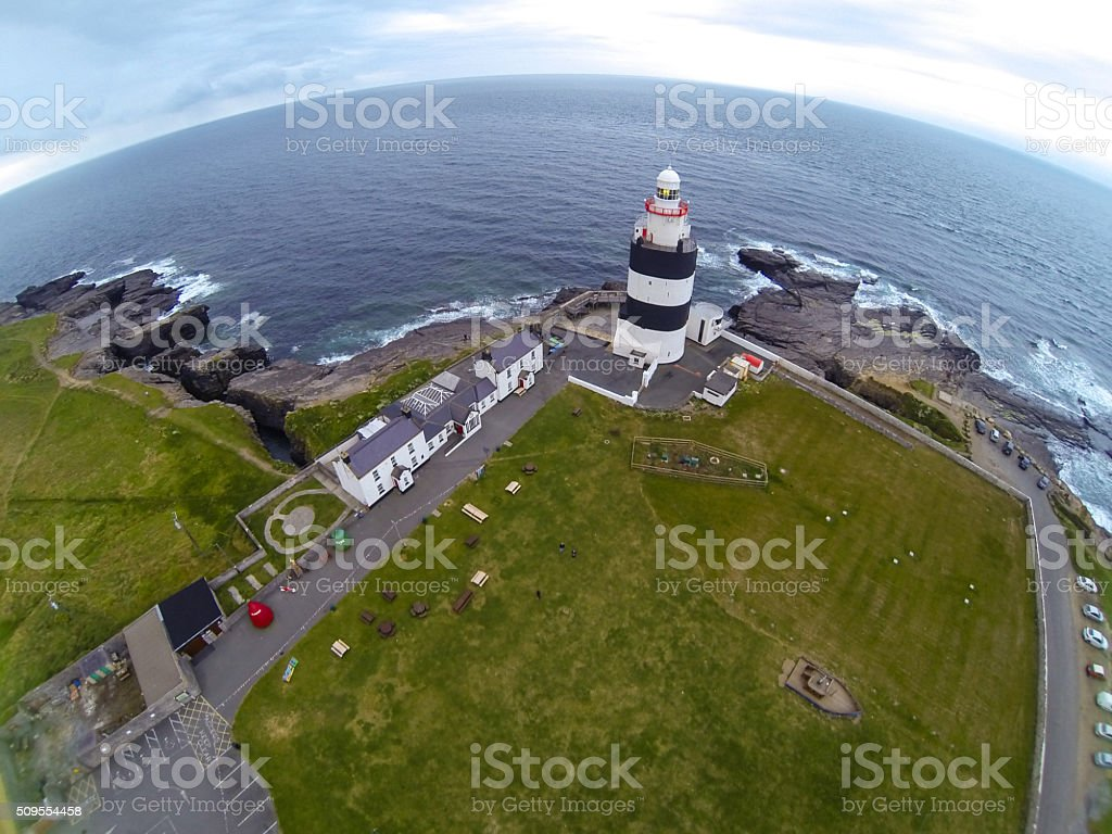 Aerial Shot Of Hook Head stock photo
