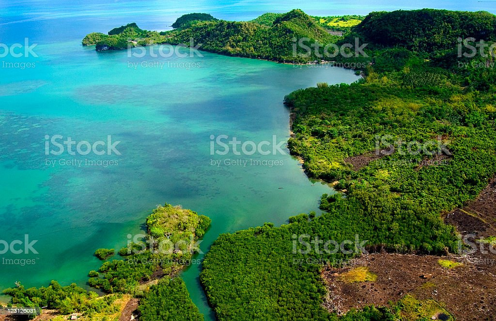 Aerial shot royalty-free stock photo
