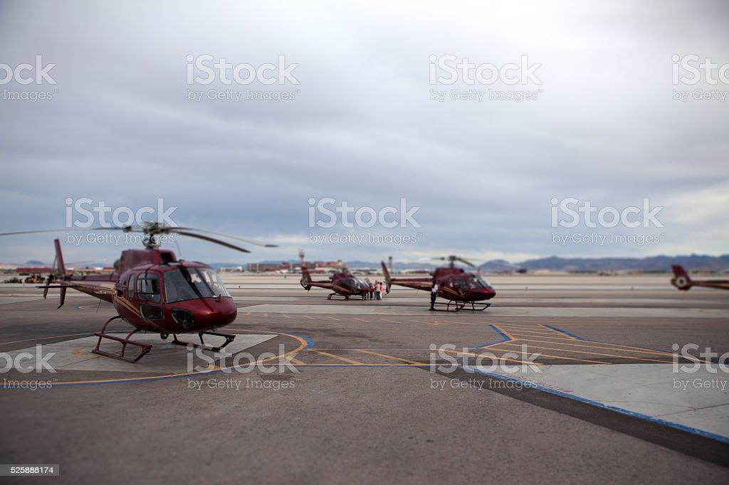Aerial Tour of Las Vegas stock photo