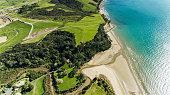 Aerial View Long Bay.